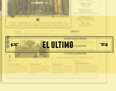 - EL ULTIMO -