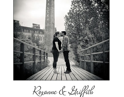 Roxanne & Griffith Engagement Book