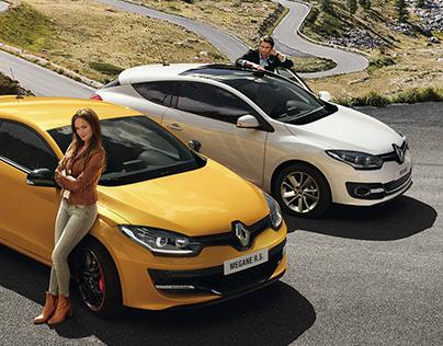Shooting photo Renault Megane
