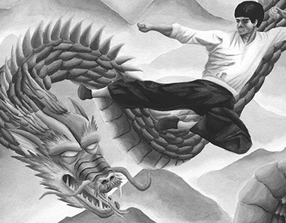Bruce Lee Fighting  Dragon