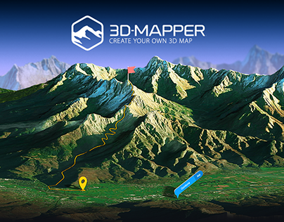 3D-Mapper Photoshop Plug-in