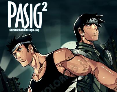 Digital Coloring Contest: Pasig by Taga-Ilog