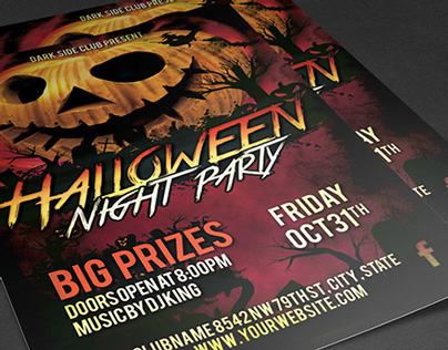 Halloween Party - Free Party Flyer