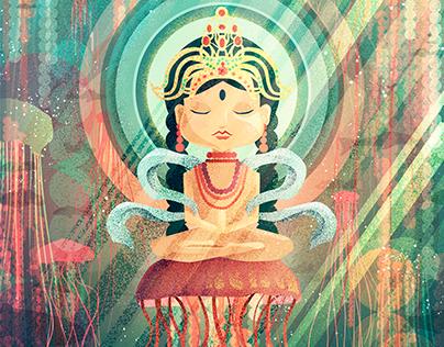 Jellyfish god