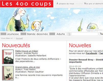 Les 400 coups - Site Web