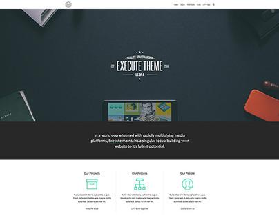 Execute Wordpress Theme by themebeans.com
