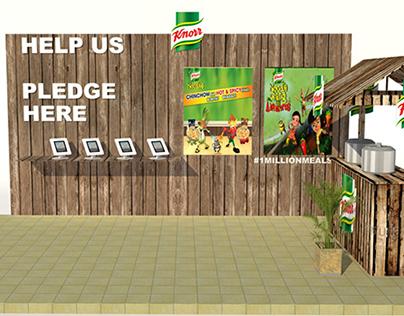 Knorr fundraising activitiy