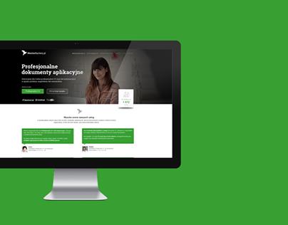 MentorKariery.pl - webpage project