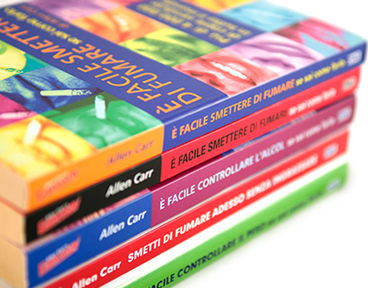 ALLEN CARR'S EASYWAY  - Cover Books