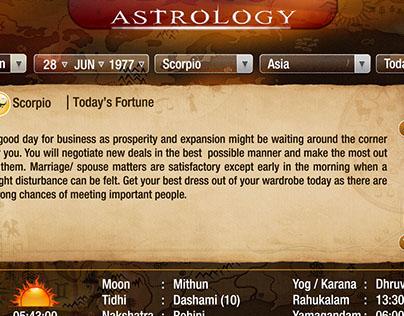 Astrology App for IPTV
