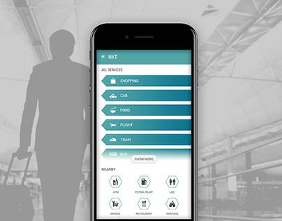 Traveller / Tourist Guide App UI