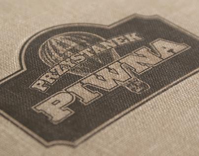 """""""Przystenek Piwna"""" - logo and menu design"""
