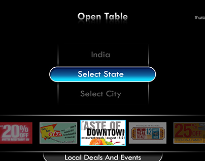 Open Table For IPTV