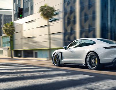 Porsche Taycan Launch