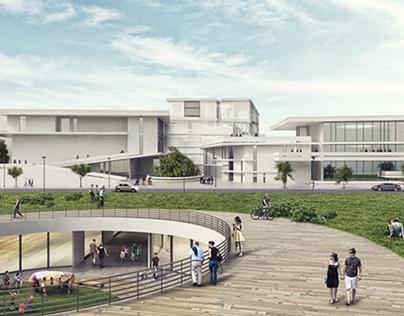 פרויקט גמר: ׳מחנה משותף׳ בית ספר כוללני בתל אביב