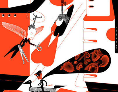Winning entries in Society of Illustrators NY 56th Show
