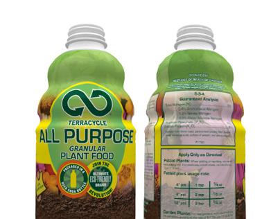 Designed All Purpose Fertilizer Label.