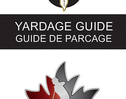 Professional Golf Course Yardage Planner