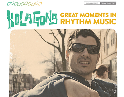 Kola Gong: Great Moments in Rhythm Music Album Cover