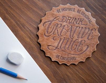 Creative Juice Coaster