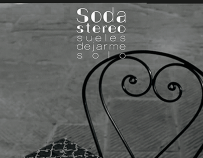 Soda Stereo Album Cover Sueles dejarme solo