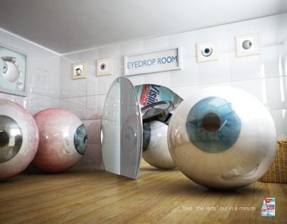 "Visine ""Eyedrop Room Room"""