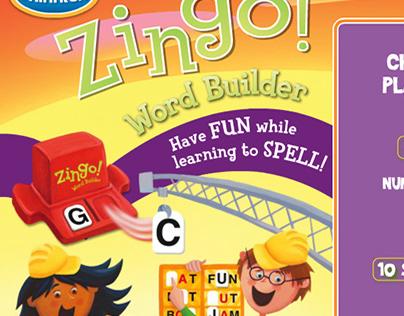 Zingo Word Builder online App