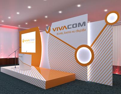 3d Project Vivacom Event