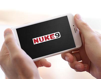 NUKE9 Gaming | Logo and Identity Design