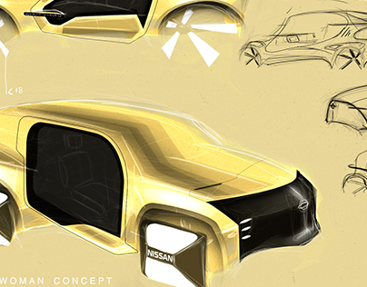 Nissan For Woman Concept