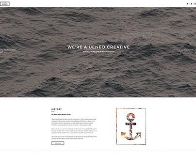 Ueneo - Creative Wordpress Theme by @Web_Dingo