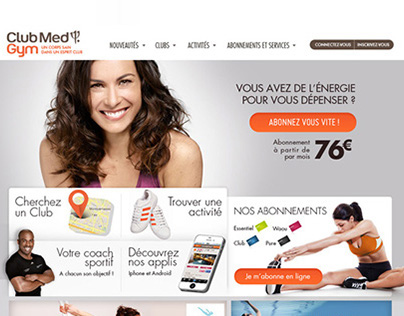 Club Med Gym - Site
