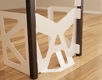 Modul' F Furniture System