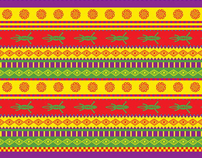 Collection of Latin America inspired patterns
