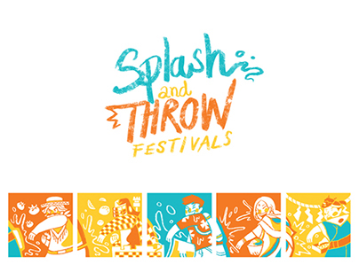 Splash and Throw Festivals