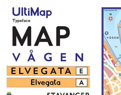 UltiMap Palette & Typeface