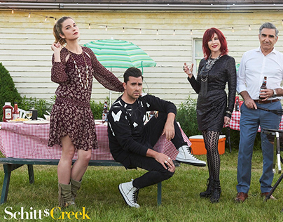 Schitt's Creek Season 4 - Unit and Gallery Retouching