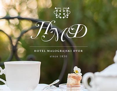 Hotel logo & web page