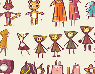 Game Character Designs