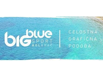 Big Blue graphic design