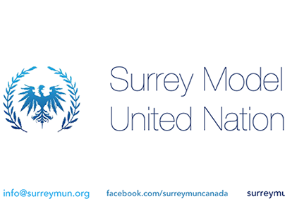 Surrey MUN Business Card