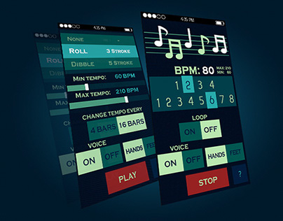 DrumsApp - concept