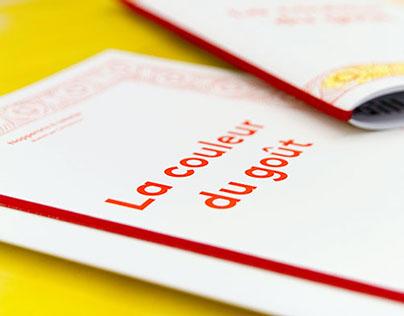 Cahier de napperons à colorier « In the Mouth »