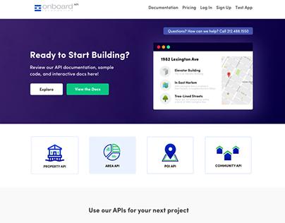 Onboard Informatics Developer Portal (2017)