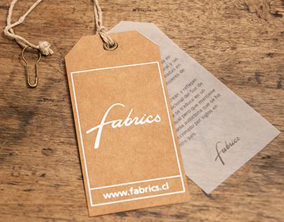 Hang Tags para Tiendas Fabrics