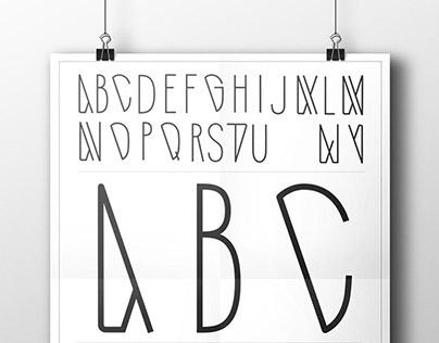 NEW YORK / font