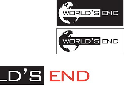 World's End - Identidade Visual para evento.