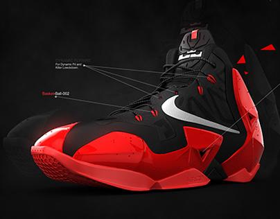 Nike Lebron 11 (BasketBall)
