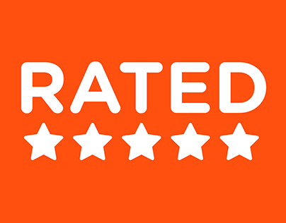 Rated - App Design and Motion Graphics