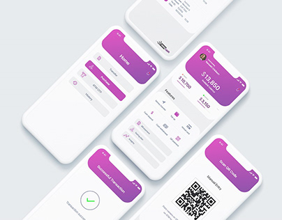 UI UX Payment mobile application
